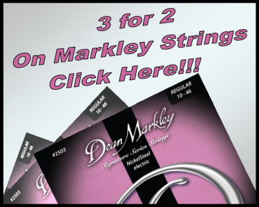 Markley 3 for 2 Banner